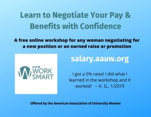 Work Smart pay and benefits negotiation workshops