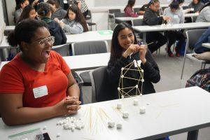 STEM conference girls
